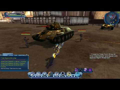 DC Universe Online Test Server Stats Revamp Final Edition Checking the Effects of Restoration
