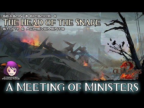 ★ Guild Wars 2 ★ - The Head of the Snake - 01 A Meeting of Ministers
