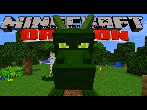 Minecraft - HOW TO TRAIN YOUR DRAGON - Dragon Trainers (1 ...