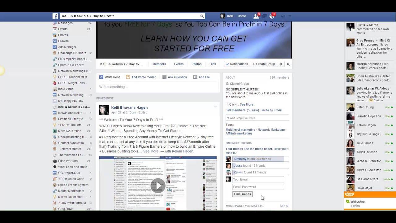Facebook Friend Finder Warning