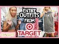 SHOP WITH ME! TARGET CLOTHING CHALLENGE + LOOKBOOK!
