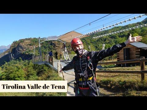 TIROLINA VALLE DE TENA - Hoz de Jaca (HUESCA)