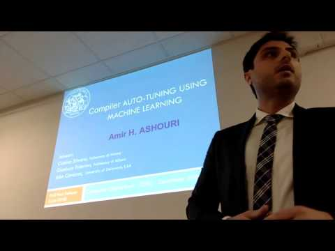 PhD Defense : Compiler Auto-tuning using Machine Learning