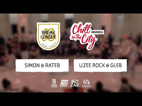 Uzee Rock & Gleb Vs Total Feeling I FINAL I Chill In The City Brussel 2018