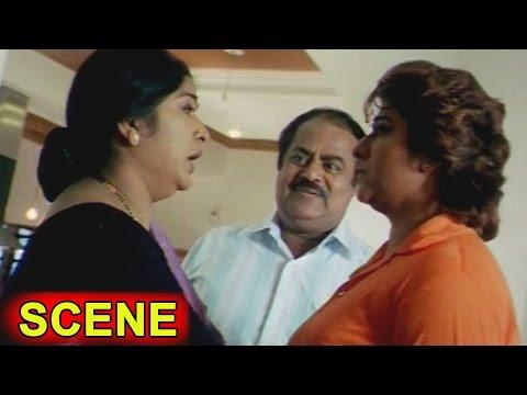 Malasri & Her Family Sentiment Scene ||  Kiran Bedi Movie || Malasri, Ashish Vidyarthi
