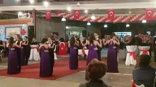 Cihat Kora Anadolu Lisesi ~2017 Cumhuriyet Balosu Vals Gösterisi