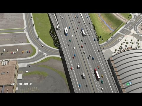 Flyover Animation of the I-70 Corridor - I-70 East EIS Project