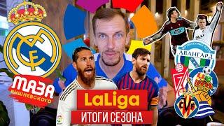 Символическая сборная чемпионата Испании 2019 20 Итоги сезона Смолов Черышев Реал Мадрид и Барса