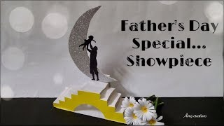 Easy showpiece for father's day || Father's day gift || Aimy creations