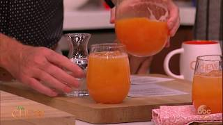 Clinton's Cantaloupe Agua Fresca Recipe | The Chew