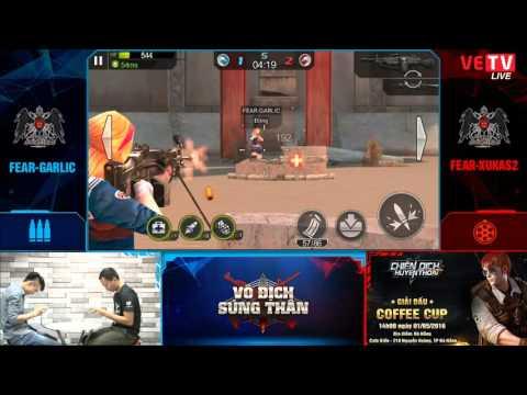 [VĐST - 29.04.2016] Trận 1 - FEAR-GARLIC (súng trường) vs FEAR.XUKAS2 (súng máy)