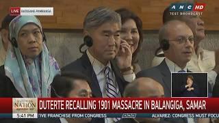 Duterte asks US: Return Balangiga bells