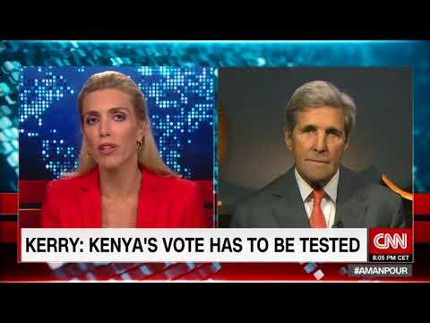 John Kerry on CNN - Kenya Election 2017