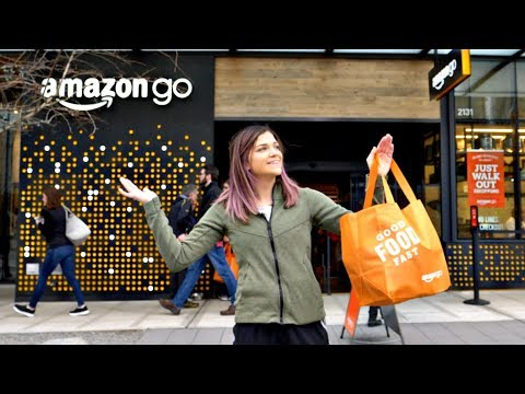 Inside the NEW Amazon Go Cashierless Store! thumbnail