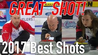 2017 Best Curling Shots - Seasons of Champions