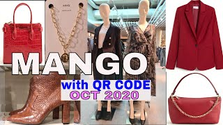 MANGO OCTOBER 2020 NEW COLLECTION with QR CODE | MANGO FALL 2020 ESSENTIALS