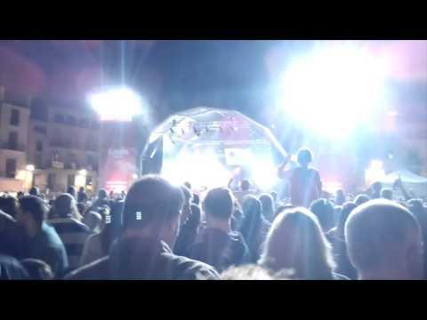 Concert de Els Catarres al Mercat De Música Viva de Vic 2015