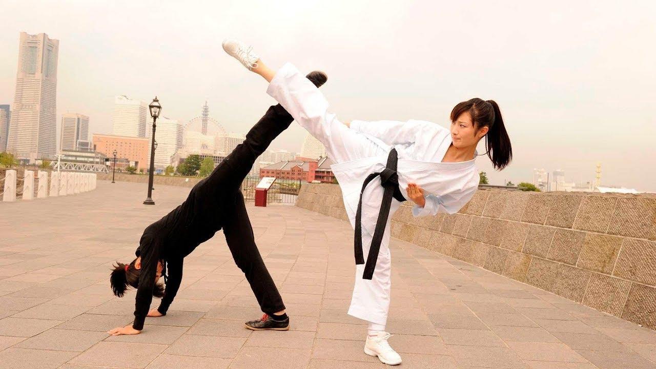 Film action terbaru2019 ||Karate girls sub indo