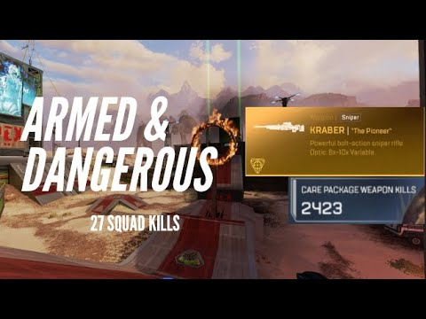 Early Game Kraber in Armed and Dangerous?! |