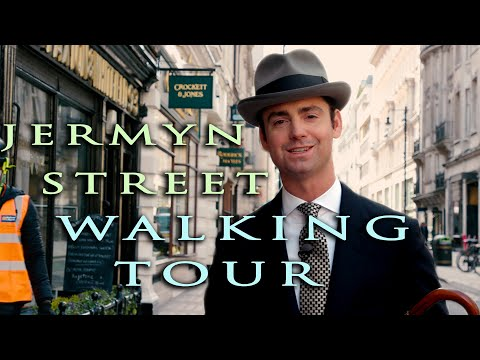 Is This The Best Shoe Shopping Street In The World? London Jermyn Street Walking Tour