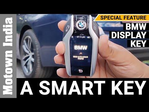 BMW 530i M SPORT DISPLAY KEY | Rs 45,000 worth smart key | Motown India