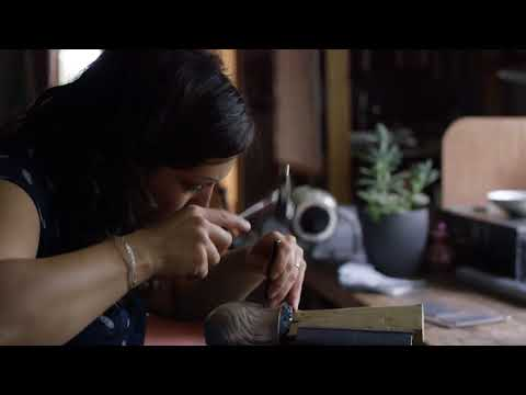 'Birds In Flight' Silver Techniques With Miriam Hanid, With The Goldsmiths' Company