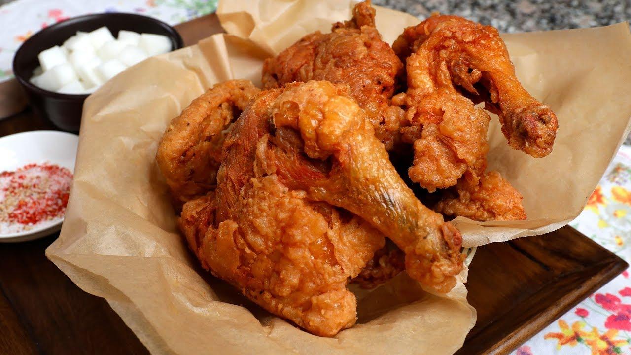 Download Korean Fried Chicken Market-style  (Sijang-tongdak: 시장통닭)