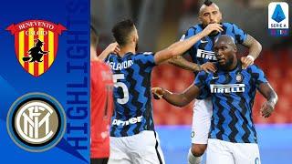 Benevento 2-5 Inter | Doppietta di Lukaku e il primo gol di Hakimi | Serie A TIM