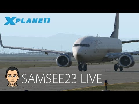 X-Plane 11 LIVE  - Flight #13 - MWCR (Grand Cayman) - MKJP (Kingston)