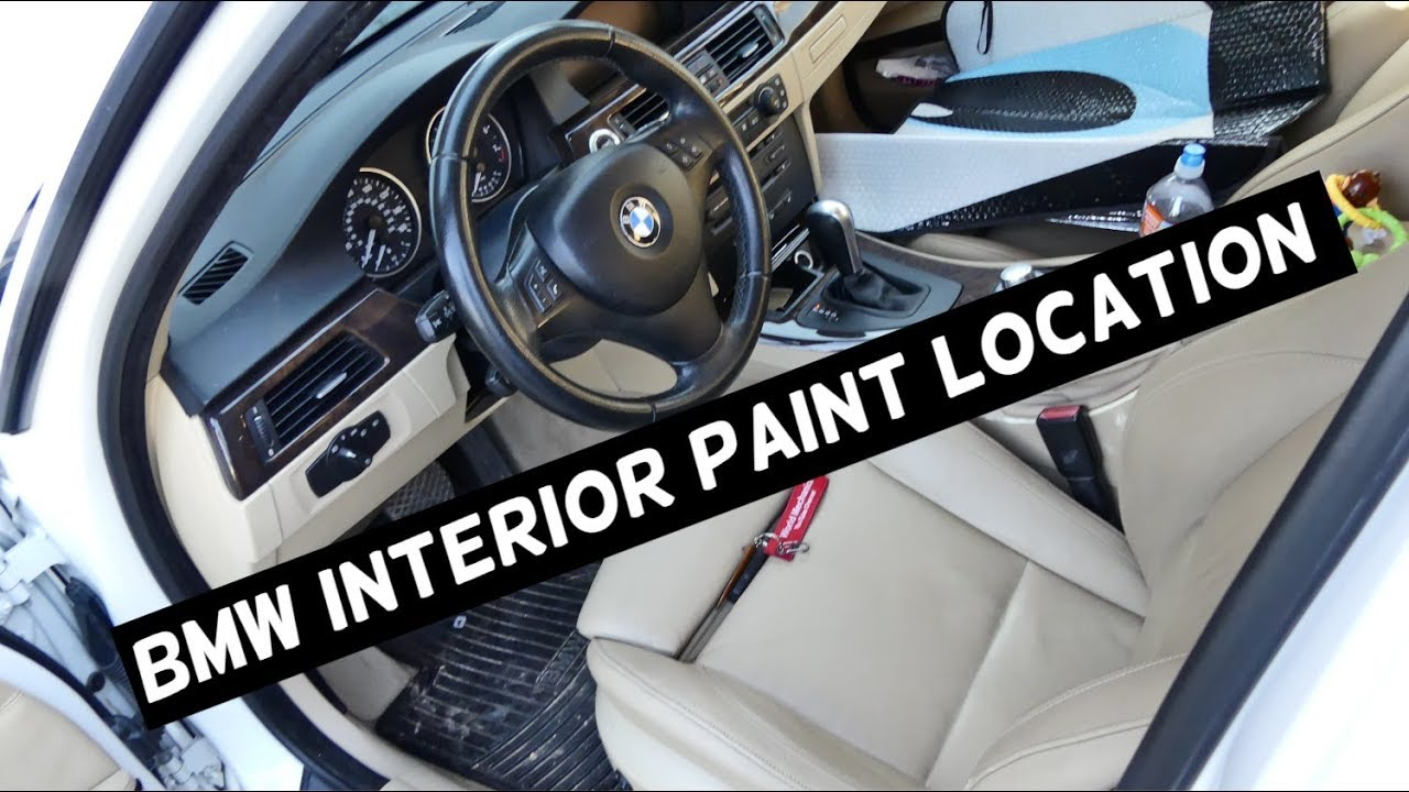 Where Is The Interior Paint Code On Bmw Youtube