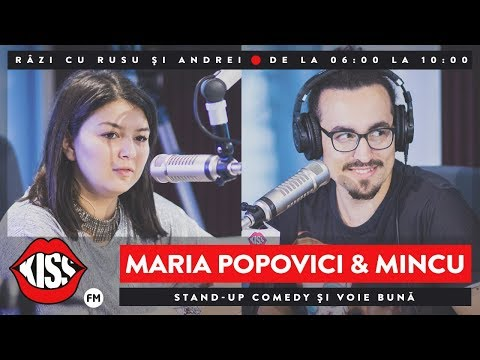 Stand-up comedy și voie bună cu Maria Popovici & Mincu