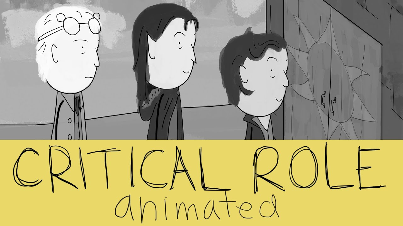 critical role animated vox machina vs the door youtube