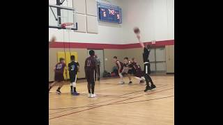 Amani Blessman and Jack Frigstad EVAA 6th Grade Basketball--Eastview Tournament Highlights