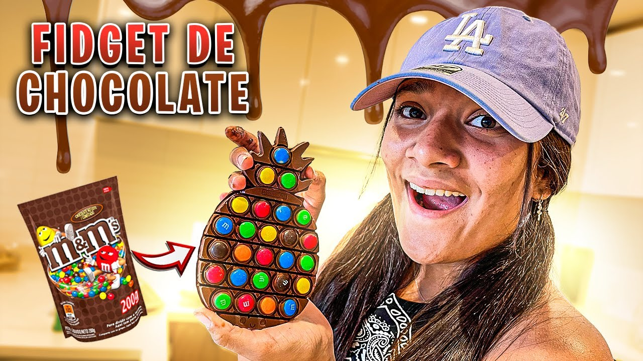 FIZ UM FIDGET TOY DE CHOCOLATE - JULIANA BALTAR #SHORTS