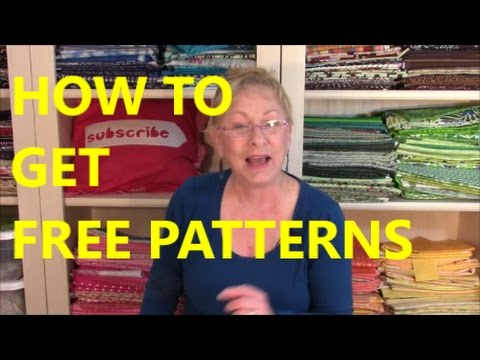 How To Get Free Patterns