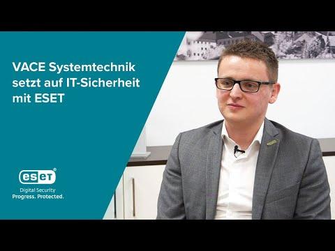 VACE Systemtechnik setzt auf IT-Sicherheit mit ESET