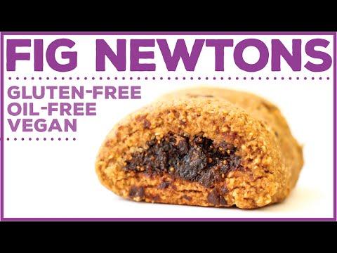 Vegan Gluten-Free Fig Newtons // oil-free + HCLF