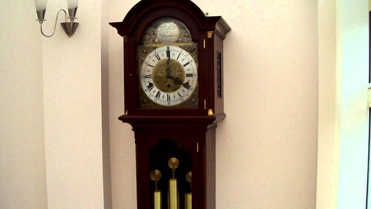 Urgos triple chime longcase grandfather clock whittington youtube amipublicfo Choice Image
