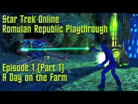 Vodokon: Episode 1 (Part 1) - A Day on the Farm // Star Trek Online Romulan Republic Playthrough