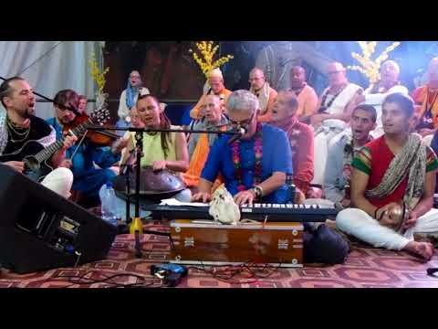 Hare Krishna Mantra.Ilan-Chester. Бхакти Сангама 2017. Киртан. Илан Честер. Хави прабу.
