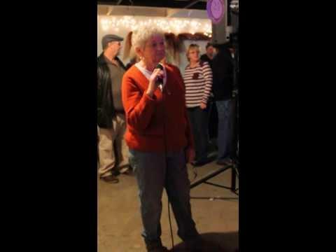 Lois Singing Karaoke