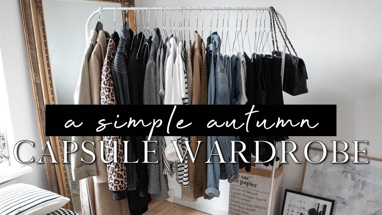 A simple autumn capsule wardrobe | 37 pieces