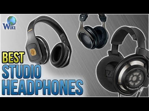 10 Best Studio Headphones 2018