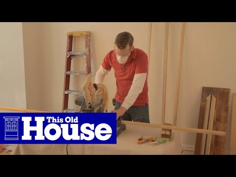 How To Dress Up A Hollow Core Door This Old House Youtube