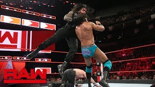 Roman Reigns & Seth Rollins vs. Jinder Mahal & Elias: Raw, June 4, 2018