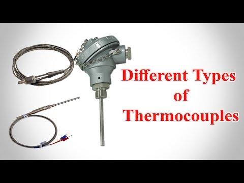 Thermocouple - Types of Thermocouple - Thermocouple Types