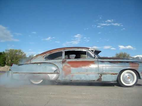1949 Cadillac Sedanette Series 61 Burn Out Draggers Cc