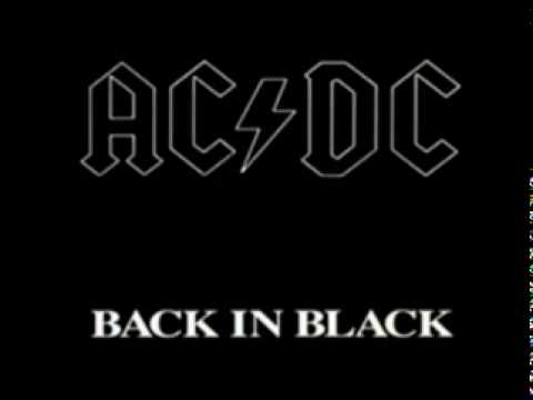 AC/DC-Back In Black - Soot to Thrill