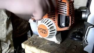 Обслуживание и ремонт бензотриммера stihl fs 87