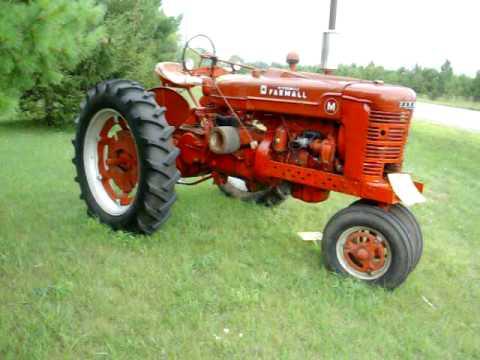 farmall M tractor Nice Old Farm Tractor Restored - YouTube